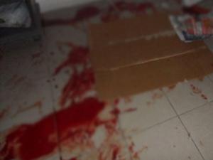 Akaryakıt istasyonunda gaspçı dehşeti