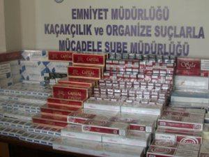 Trabzon'da yine sigara kaçakçılığı...