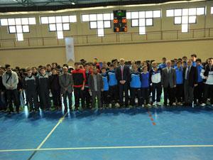 Trabzon'da futsal müsabakaları başladı