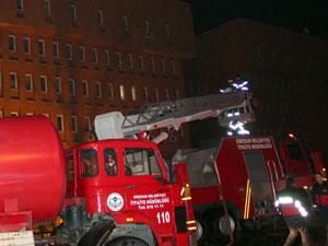 5 yıldızlı otelde yangın paniği!