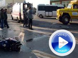 Feci trafik kazası kameralara yansıdı
