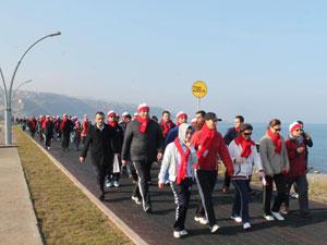 Trabzon'dan Sarıkamış Şehitlerine saygı