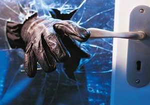 Trabzon'da hırsızlar evin kapısını da çaldı