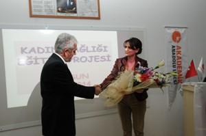 Samsun'da kadın sağlığı eğitimi