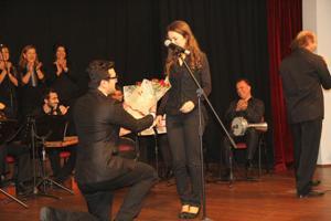 Trabzon böyle evlilik teklifi görmedi! Sahnede...
