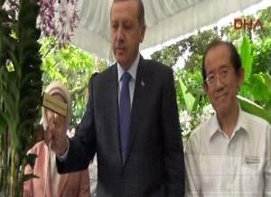 Erdoğan çiftine büyük jest