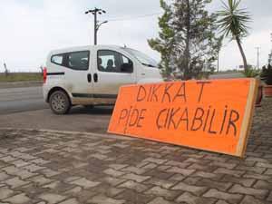 Trabzon'da fıkra gibi tabela