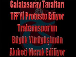 TFF Protesto Ediliyor