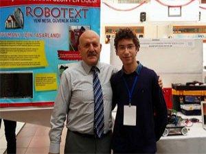 Trabzonlu öğrenci robot üretti!