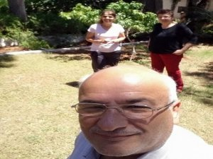 Ölmeden önce selfie!