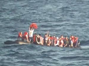 Bin 79 sığınmacı ölümle burun buruna geldi