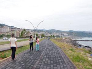 Trabzon'da yürürken internet keyfi!