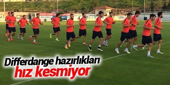 Trabzonspor Differdange'ye hazırlanıyor