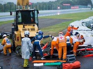 F1 pilotundan acı haber