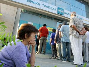Yunanistan'da bankalar açıldı!