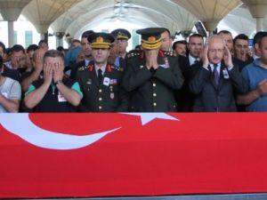 Cenaze törenine Kılıçdaroğlu da katıldı