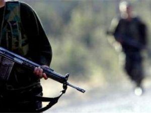 Teröristlerin sığınakları imha edildi