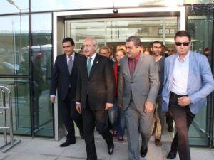 Kemal Kılıçdaroğlu İzmir'e geldi