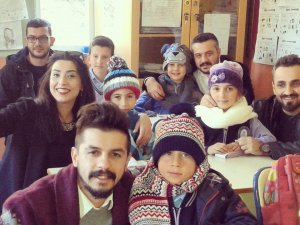 Trabzonlu Gönüllülerden Çocuklara Yardım