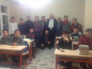 Başkan Çebi'den Kuran Kursu'na ziyaret