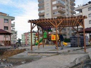 Trabzon'da o mahalleye yeni park!