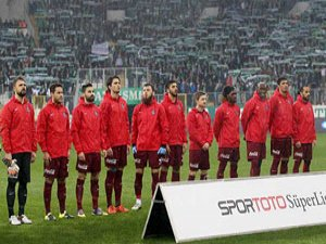 Bursaspor Trabzonspor maçından kareler