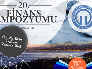 Finans camiası Trabzon'da buluşuyor
