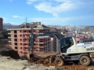 Trabzon'da o mahallelere yeni yol!