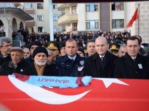 Trabzonlu şehit son yolculuğuna uğurlandı!