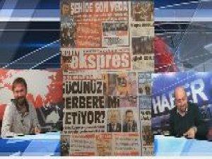 Trabzon'da berberlere getirilen yasak canlı yayında gülme krizine soktu...