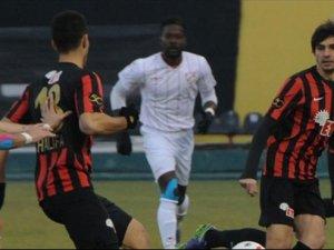 Boluspor Eskişehirspor'a mağlup oldu