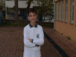 Trabzonlu öğrenci tarih yazdı