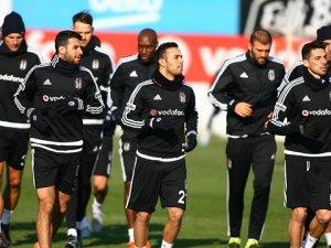 Beşiktaş Trabzonspor'a hazırlanıyor