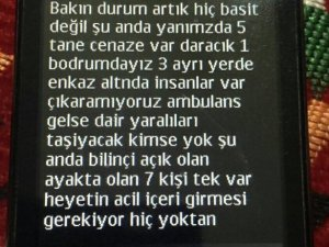 PKK'lı terörist vekilden SMS'le yardım istedi