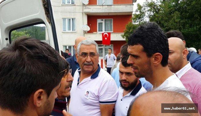 Kenan Sofuoğlu cenaze töreninde!
