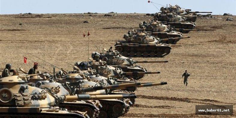 TSK YPG'yi yine vurdu!