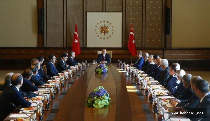Usta, Erdoğan'ın davetine katıldı