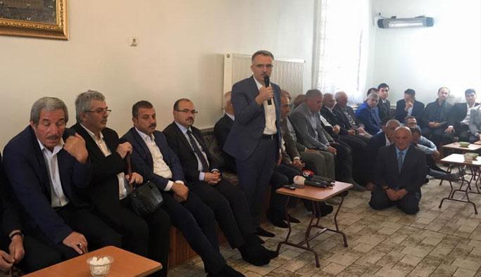Maliye Bakanı Ağbal memleketi Bayburt'ta