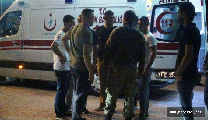 Teröristlerle çatışma: 1 asker yaralı