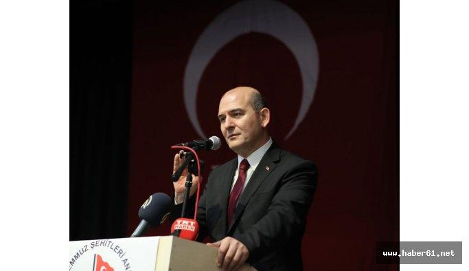 Bakan Soylu'dan Trabzon'da flaş açıklama!
