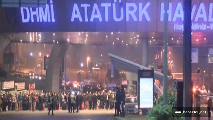 Atatürk Havalima'nında silah sesleri