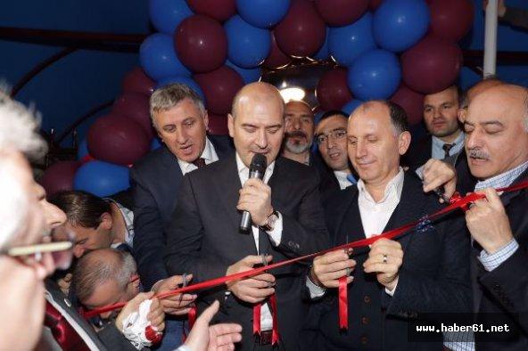 Bakan Soylu Trabzonlular gecesinde teröre meydan okudu