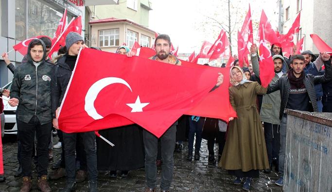 Artvin'den geldiler Trabzon'da protesto ettiler