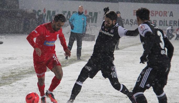 Beşiktaş Kupada berabere!