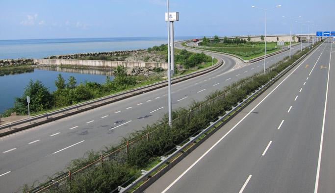 Karayolları uyardı: Trabzon - Rize - Pazar yolu!