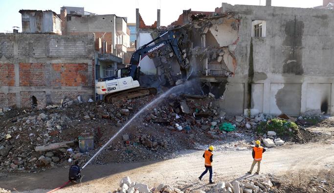 Tabakhane'de 533 bina yıkıldı!