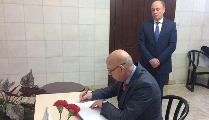 TÜRSAB DYK'dan Rus Başkonsolosa Taziye ziyareti