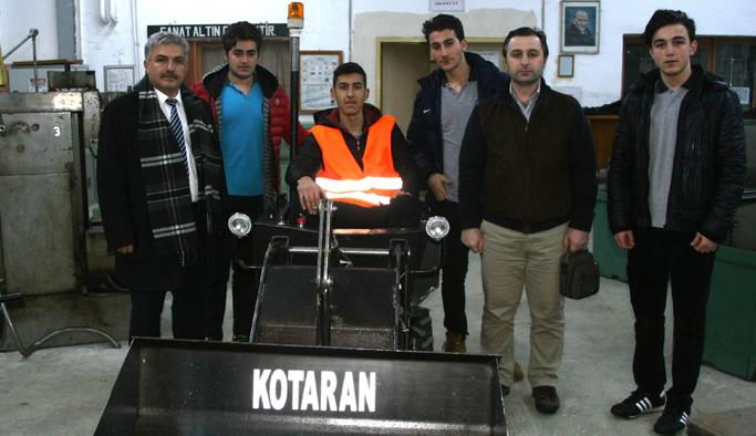 Trabzon'da üretilen 'Kotaran'a yeni özellik