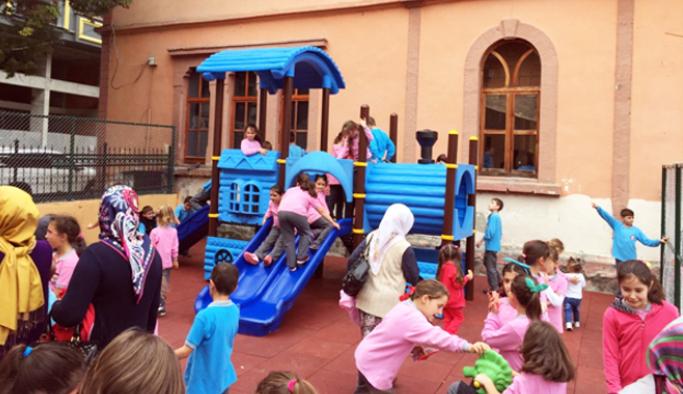 Trabzon'da okullara çocuk parkı!