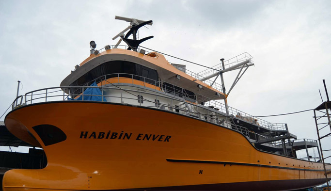 40 yıldır Çamburnu'nda gemi inşa ediliyor